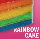 Rainbow Cake - how to