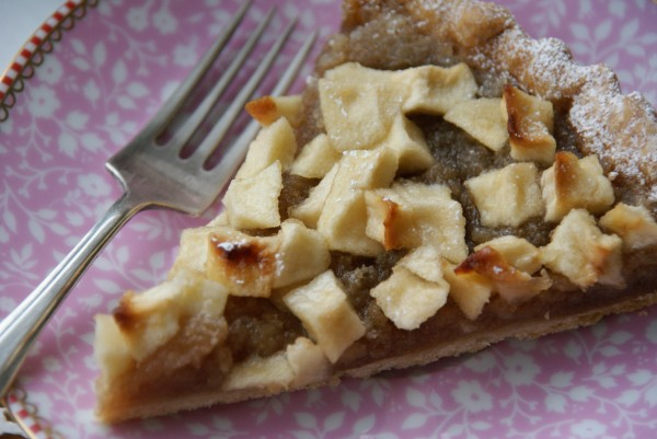 Toffee Apple Tart