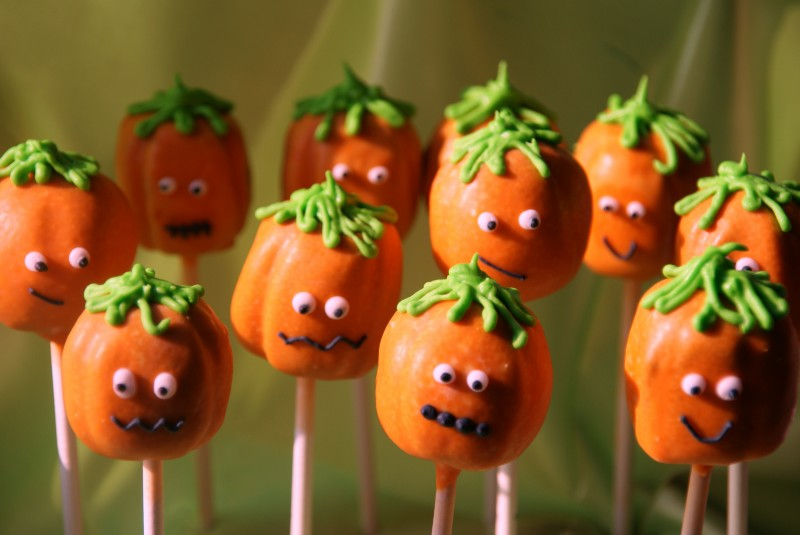 Halloween Cake Pops Recipe Uk