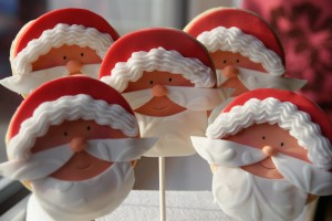 Father Christmas Cookie Lollies