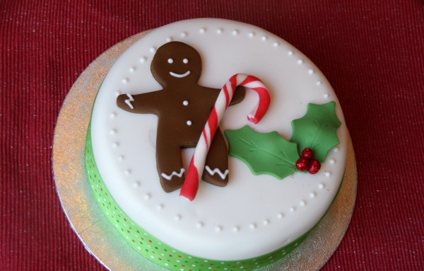 Gingerbread Man Cake