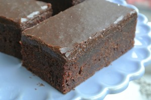Chocolate Frosted Traybake