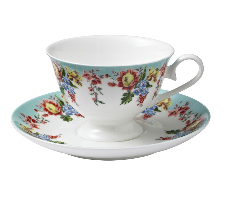 Amelia Cup and Saucer