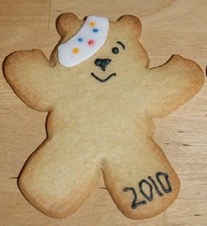 Pudsey Bear Sugar Cookies