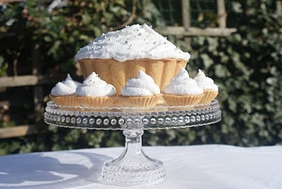 Lemon Meringue Tower